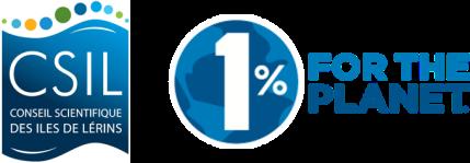 logos 1%planète et CSIL